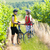 bikers in vineyard czech republic stock photo © phbcz