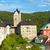 loket castle with town czech republic stock photo © phbcz