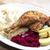ördek · bacak · kırmızı · lahana · gıda · tablo - stok fotoğraf © phbcz
