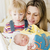 портрет · матери · материнский · больницу · женщину · семьи - Сток-фото © phbcz