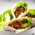 лаваш · хлеб · мексиканских · смесь · пластина · мяса - Сток-фото © phbcz