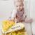 portret · vergadering · meisje · verjaardagstaart · kind - stockfoto © phbcz