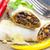 メキシコ料理 · 地上 · 牛肉 · ディナー · プレート · 肉 - ストックフォト © phbcz