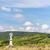 statue of saint jan nepomucky with vineyard near retz lower aus stock photo © phbcz