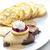 vesepecsenye · krém · tányér · hús · citrom · étel - stock fotó © phbcz