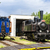 estreito · ferrovia · República · Checa · trem · viajar - foto stock © phbcz