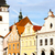 masaryk square pelhrimov czech republic stock photo © phbcz