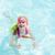 szőke · kislány · úszómedence · védőszemüveg · nyár · arc - stock fotó © phbcz