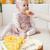 портрет · сидят · девушки · именинный · торт · ребенка - Сток-фото © phbcz