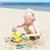 meisje · spelen · strand · zee · meisje · kind - stockfoto © phbcz