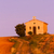 capela · campo · de · lavanda · planalto · flor · flores · edifício - foto stock © phbcz