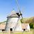windmill kuzelov czech republic stock photo © phbcz