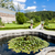 garden of cistercian monastery in zwettl lower austria austria stock photo © phbcz