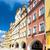 ville · Pologne · bâtiment · vert · bleu · architecture - photo stock © phbcz