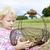 recoger · setas · naturales · madera · alimentos - foto stock © phbcz