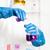 abrigo · laboratorio · mujeres · gafas - foto stock © phbcz