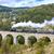 stoom · trein · hemel · rook · reizen · zwarte - stockfoto © phbcz