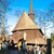wooden church of holy virgin mary broumov czech republic stock photo © phbcz