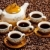 stilleven · koffiekopjes · koffie · beker · object · pot - stockfoto © phbcz