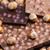 csokoládé · rácsok · mogyoró · édes · bent · sok - stock fotó © phbcz