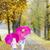 母親 · 娘 · 傘 · 路地 · 女性 - ストックフォト © phbcz