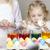 küçük · kız · paskalya · yumurtası · çocuk · portre · yumurta · çocuk - stok fotoğraf © phbcz