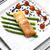 лосося · спаржа · филе · зеленый · извести - Сток-фото © phbcz