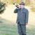 охотник · охота · Роге · человека · мужчин · осень - Сток-фото © phbcz