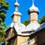 wooden church in trzescianka podlaskie voivodeship poland stock photo © phbcz