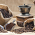 chicchi · di · caffè · bag · tavolo · in · legno · caffè · natura - foto d'archivio © phbcz