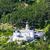 monte maria abbey near burgusio trentino alto adige italy stock photo © phbcz