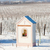 зима · виноградник · южный · Чешская · республика · здании - Сток-фото © phbcz