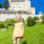 küçük · kız · kale · düşük · Avusturya · kız · çocuk - stok fotoğraf © phbcz