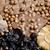 chocolate · secas · fruto · frutas · fundos - foto stock © phbcz