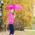 女性 · 着用 · 傘 · 自然 - ストックフォト © phbcz