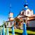 православный · Церкви · красный · глубокий · Blue · Sky · дерево - Сток-фото © phbcz
