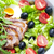 warzyw · Sałatka · kaczka · piersi · plastry - zdjęcia stock © phbcz