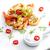 ızgara · karides · sarımsak · kırmızı · biber · yemek - stok fotoğraf © phbcz