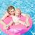 madre · hija · piscina · mujer · agua · nino - foto stock © phbcz