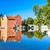 宮殿 · チェコ共和国 · 水 · 旅行 · 城 · アーキテクチャ - ストックフォト © phbcz