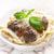 makarna · köfte · domates · sosu · İtalyan · gıda · gıda · yeme - stok fotoğraf © phbcz