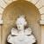 bust of queen elizabeth stowe buckinghamshire england stock photo © phbcz