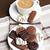 chocolate · oscuro · galletas · casero · 80 · por · ciento · chocolate - foto stock © phbcz