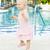 little girl at swimming pool tobago stock photo © phbcz