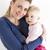 retrato · madre · familia · mujeres · nino - foto stock © phbcz