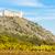 romok · kastély · szőlőskert · Csehország · épület · építészet - stock fotó © phbcz