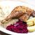 утки · мяса · капуста · пластина · еды - Сток-фото © phbcz