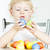 portrait of little girl with Easter eggs stock photo © phbcz