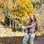 женщину · рыбалки · реке · Чешская · республика · женщины · осень - Сток-фото © phbcz