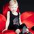 девочку · сидят · Председатель · девушки · ребенка · Kid - Сток-фото © phbcz